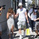 Chloe Bennet and boyfriend Logan Paul – Shopping in Beverly Hills - 454 x 493
