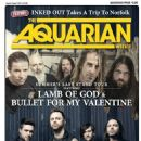 Randy Blythe, Willie Adler, Chris Adler, Michael Paget - The Aquarian Weekly Magazine Cover [United States] (5 August 2015)