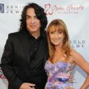 Musician Paul Stanley of KISS and Jane Seymour attend the 5th Annual Open Hearts Foundation Gala on May 9, 2015 in Malibu, California. - 436 x 600