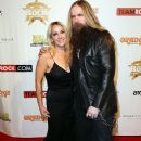 Zakk & Barbaranne Wylde at Classic Rock And Roll Honour 2014 Award Ceremony at Avalon on November 4, 2014 in Hollywood, CA - 371 x 594