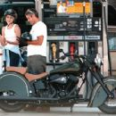 Celine Balitran and George Clooney