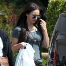 Megan Fox in Black Ripped Jeans Shopping in Malibu - 454 x 678