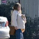 Hilary Duff – Out with her coffee in Studio City - 454 x 663