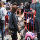 Jenna Dewan-Tatum is seen out with her daughter Everly Tatum at a farmer's market in Studio City, California on March 26, 2017 - 445 x 600