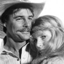 Jan-Michael Vincent and Kim Basinger in Hard Country (1981) - 454 x 512