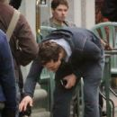 Jamie Dornan On The Set Of Fifty Shades Of Grey