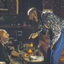 Left: Capt. Spaulding (Sid Haig) in The Devil's Rejects.