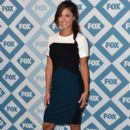 Vanessa Lachey arrives to the 2014 Fox All-Star Party at the Langham Hotel on January 13, 2014 in Pasadena, California - 392 x 594