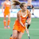 Dutch female field hockey players