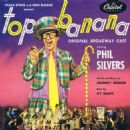 TOP BANANA  Starring Phil Silvers 1953 Broadway Cast - 454 x 454