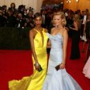 Toni Garrn Charles James Beyond Fashion Costume Institute Gala In Ny