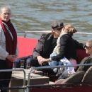 Gisele Bundchen and Tom Brady in Paris April 10, 2010