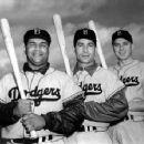 Roy Campanella, Carl Furillo & Gil Hodges - 454 x 354