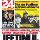 The Beatles - 24 Sata Magazine Cover [Croatia] (29 February 2016)