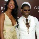 Usher Raymond and Eishia Brightwell