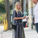 Reese Witherspoon stops by the Montage Hotel with her mini-me daughter Ava on September 4, 2015