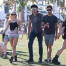 Richie Sambora and Ava Sambora at Day 3 of first weekend of The Coachella Valley Music and Arts Festival in Coachella, California on April 11, 2015 - 454 x 476