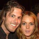 Lindsay Lohan and Harry Morton