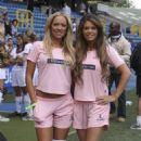Aisleyne Horgan-Wallace - May 18 2008 - Celebrity Soccer Six Tournament, London