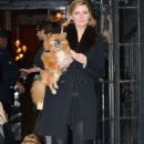 Mischa Barton with her dog out in NYC - 454 x 682