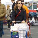 Sophia Bush – Shopping at the Melrose Trading Post in LA - 454 x 703