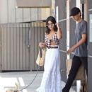 Vanessa Hudgens and Austin Butler – Out with dog in Los Angeles