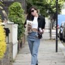 Daisy Lowe in Jeans – Out in London - 454 x 592