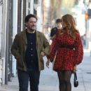 Eva Mendes with a friend out in Los Angeles