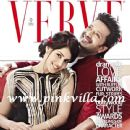 Genelia D'Souza, Ritesh Deshmukh - Verve Magazine Cover [India] (February 2012)