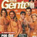 Cláudio Heinrich, Humberto Martins, Marcelo Novaes, Matheus Rocha, Marcos Pasquim, Uga Uga - Isto É Gente Magazine Cover [Brazil] (2 October 2000)