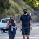 Ashley Benson and G-Eazy – Hiking candids in LA