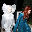 Sophie Turner and Joe Jonas – Attend a Halloween party in Los Angeles - 454 x 681