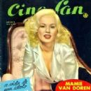 Mamie Van Doren - Cine-Fan Magazine Pictorial [Brazil] (August 1957)