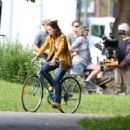 Katie Holmes – Filming 'The Gift' set in Montreal