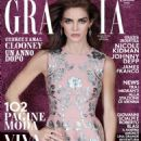 Hilary Rhoda - Grazia Magazine Cover [Italy] (30 September 2015)