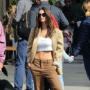 Emily Ratajkowski – Steps out with her dog in New York