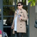 Ginnifer Goodwin is seen out and about while pregnant on March 3, 2016