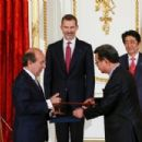 King Felipe VI and Queen Letizia Visit Japan - Day 2 - 454 x 303