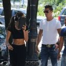 Irina Shayk and Cristiano Ronaldo out in NYC (June 19)