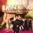 Logan Browning – 'The Lion King' Premiere in Hollywood - 454 x 683