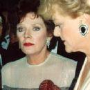 With Angela Lansbury