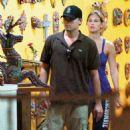 Bar Refaeli and Leonardo DiCaprio