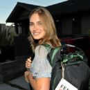 Lauren Bush - Kenneth Cole A'wear'ness And Feed Projects' Celebrate The Feed Health Backpack Event At The Living Home On August 26, 2009 In Santa Monica, California - 454 x 671
