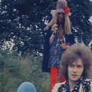 """Charlotte Martin and Eric Clapton in May 1967 - photographed by Robert Whittaker for the Cream's album cover """"Disraeli Gears""""."""