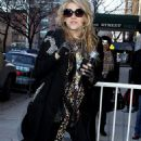 Ke$ha paid a visit to The Wendy Williams Show in New York City on Thursday (January 14).