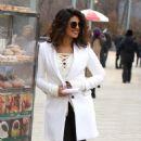 Priyanka Chopra – Filming 'Quantico' set in New York - 454 x 768