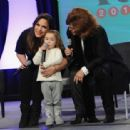 Angelica Maria and Angelica Vale: 2015 PEOPLE En Espanol Festival Day 2 - Press Room - 454 x 313