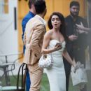 Sarah Hyland – Pre-wedding day bridesmaid luncheon at the Lombardi House in Hollywood