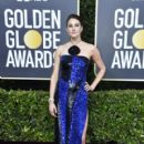 Shailene Woodley wears Balmain Dress : 77th Annual Golden Globe Awards