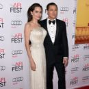 "Angelina Jolie & Brad Pitt attends the opening night gala premiere of Universal Pictures' ""By the Sea"" during AFI FEST 2015 (November 05, 2015)"